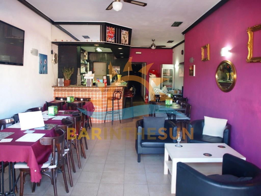 Cafe Bars For Sale in La Carihuela on The Costa Del Sol, Businesses For Sale in Spain