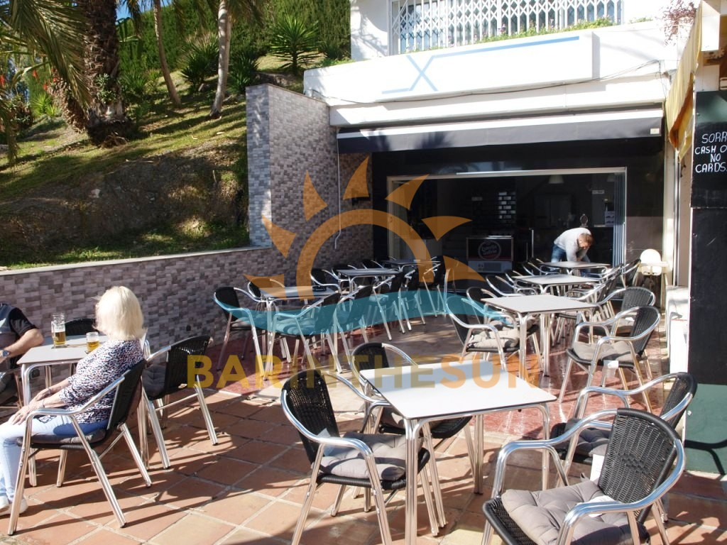 Benalmadena Cafe Bar With Main Road Trading Location For Sale