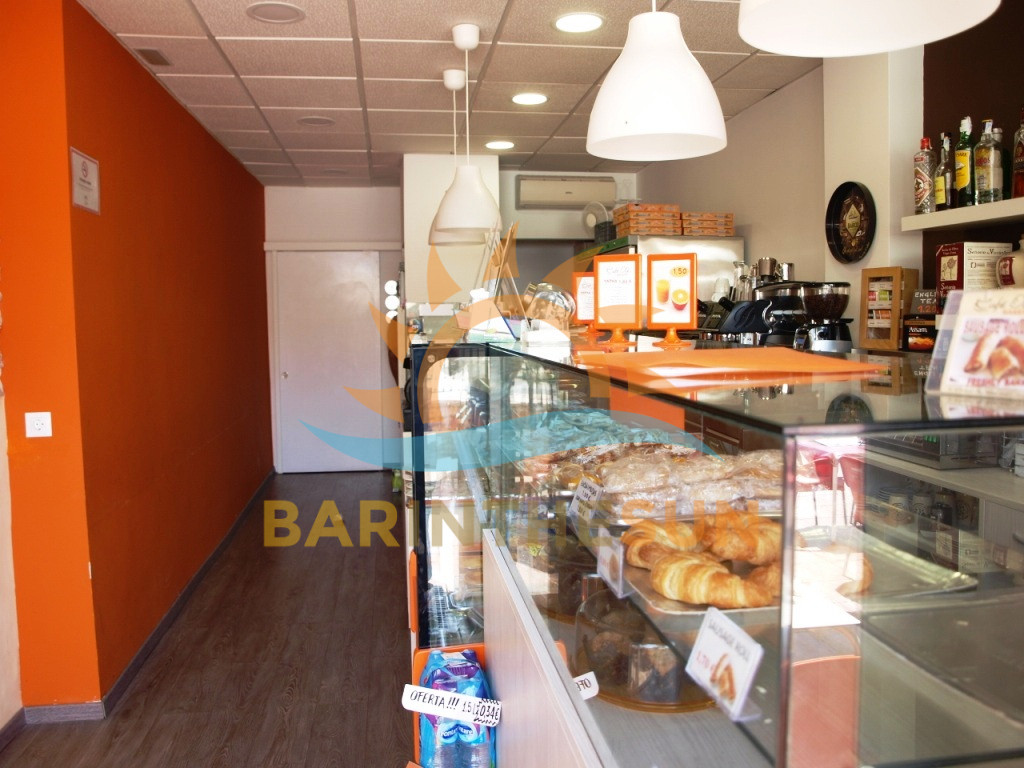 Modern Trendy Recently Refurbished Cafeteria Snack Bar For Sale in Benalmadena Costa Del Sol