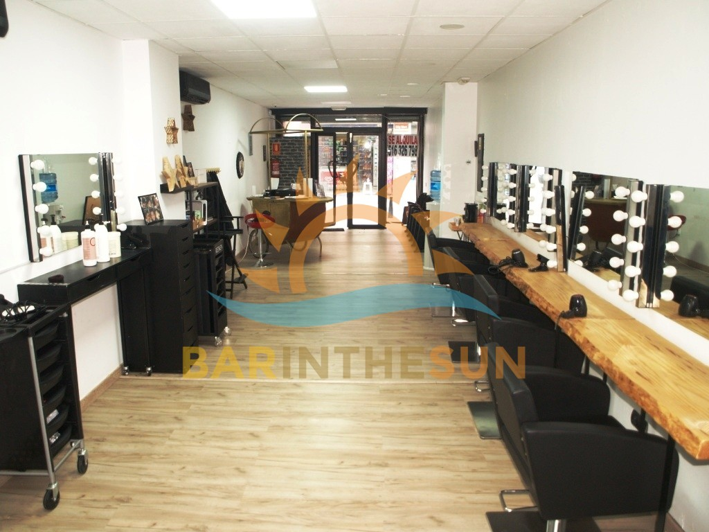 Fuengirola Hairdressing Salon For Sale, Hairdressing Salons For sale in Spain