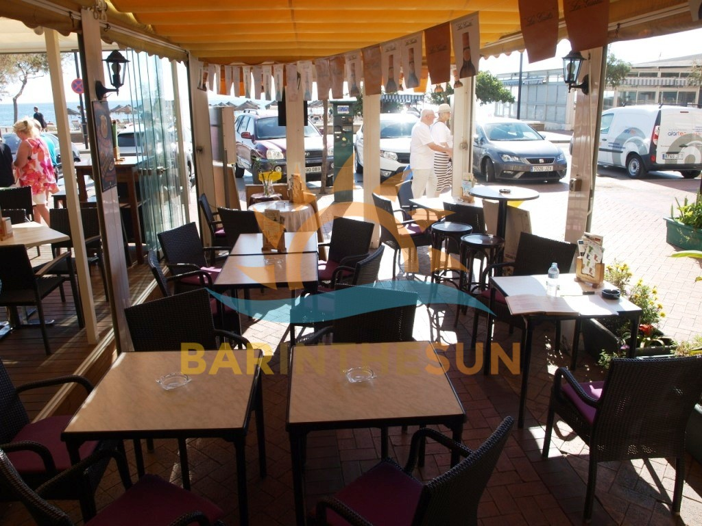 Sea Front Cafe Bar Businesses For Sale on The Costa Del Sol in Spain