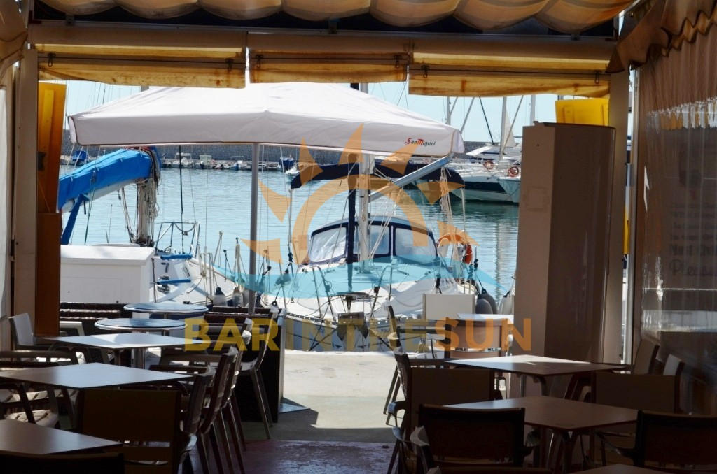 Front Line Marina Cafe Bars For Sale, Cafe Bars For Sale in Spain