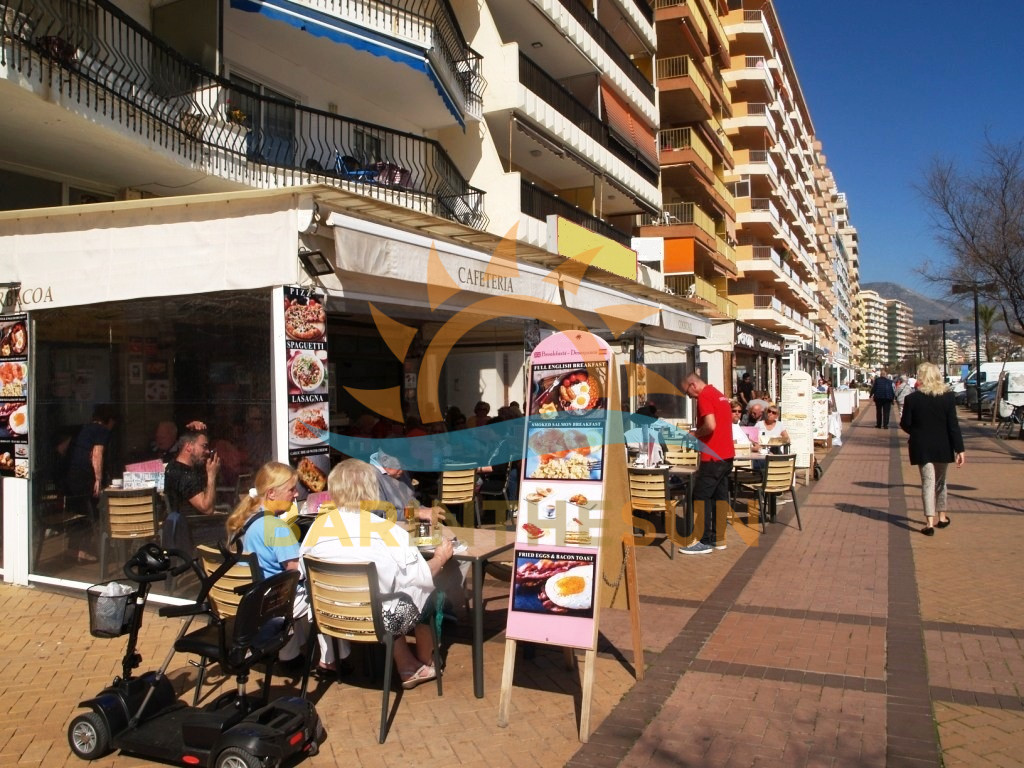 Seafront Cafe Bars in Fuengirola For Sale, Seafront Costa Del Sol Businesses For Sale
