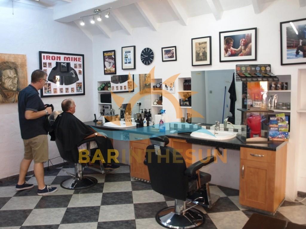 Costa Del Sol Gents Barber Shop For Sale, Fuengirola Barber Shop For Sale