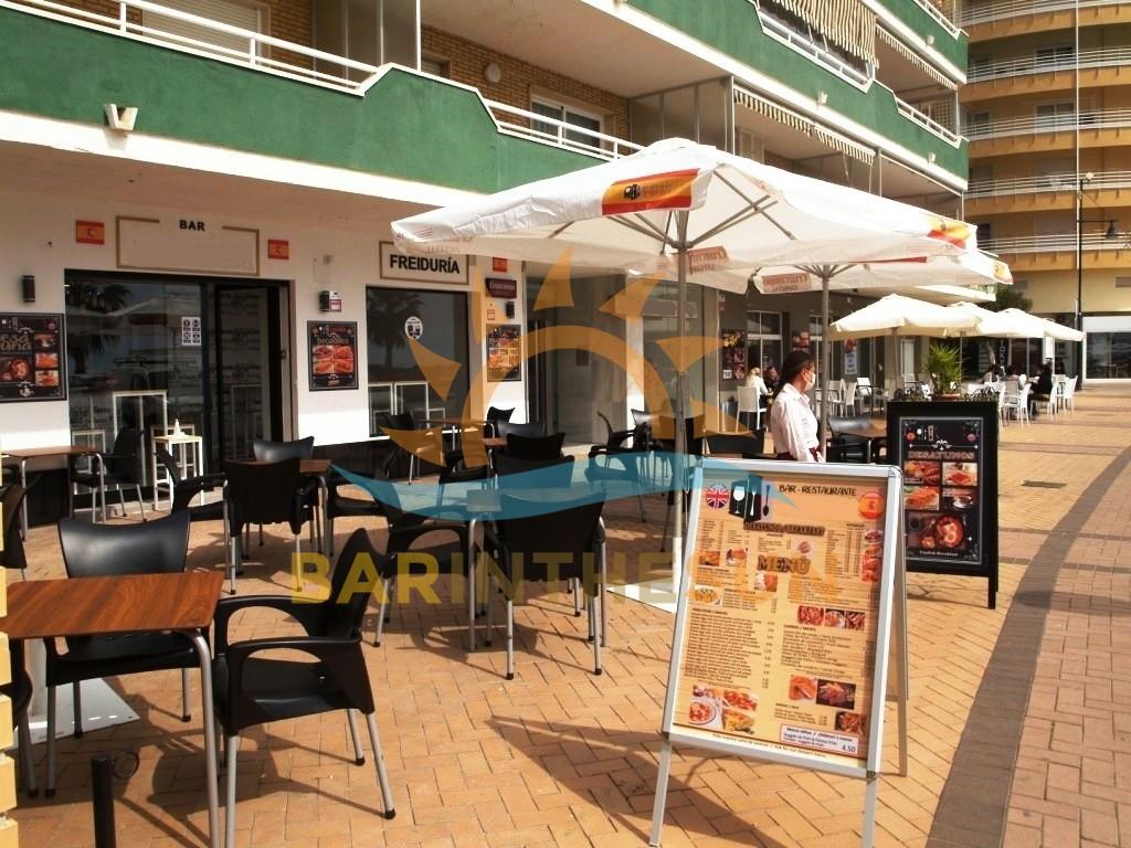 Torreblanca Seafront Cafe Bars For Sale, Costa Del Sol Seafront Bars For Sale