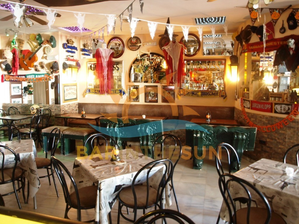 Long Established Irish Theme Pub For Sale in Torremolinos on The Costa Del Sol