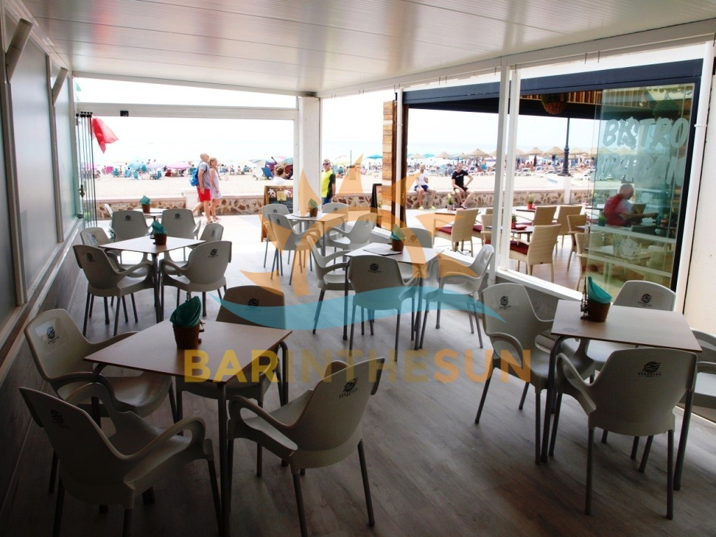Sea Front Cafe Bars For Sale in La Carihuela on The Costa del Sol