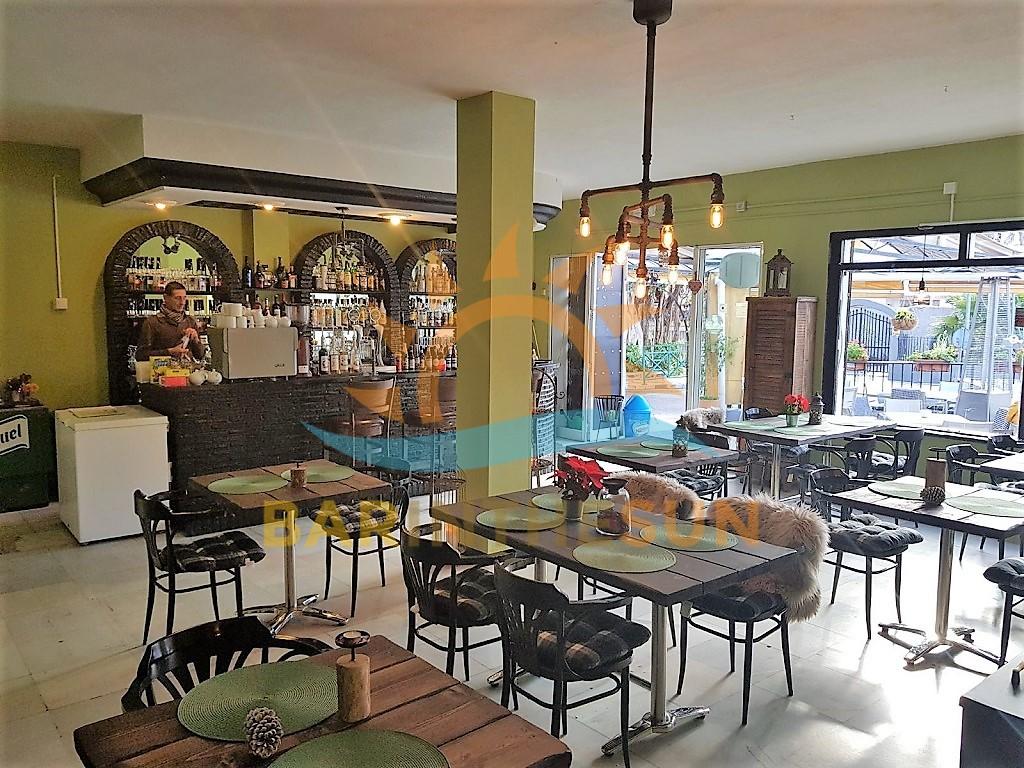 Prime Corner Located Cafe Bistro For Sale in Benalmadena, Costa Del Sol Cafe Bars For Sale