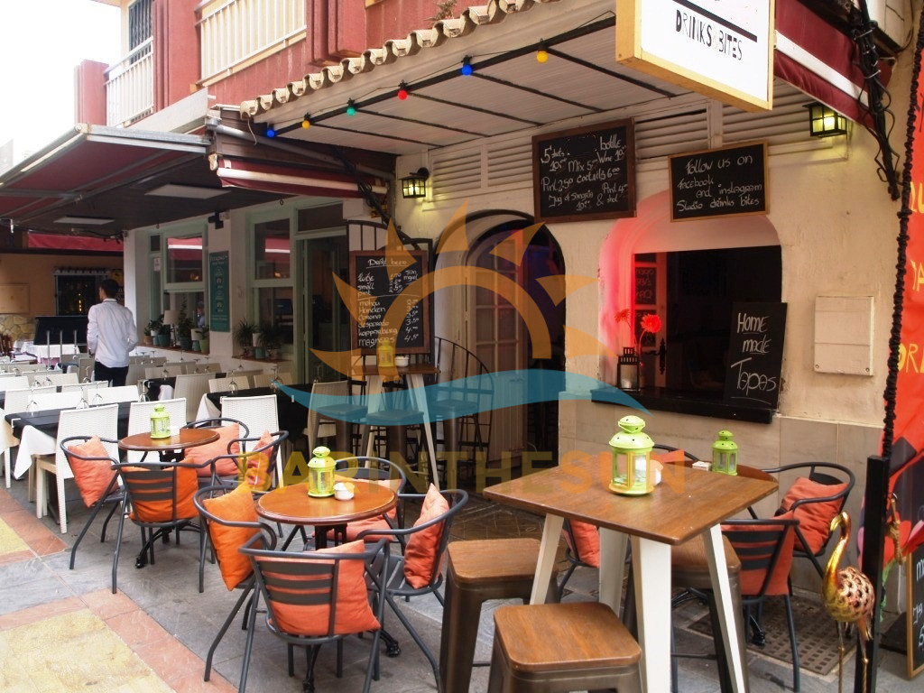 Drinks Bar For Sale in Fuengirola, Businesses For Sale in Spain