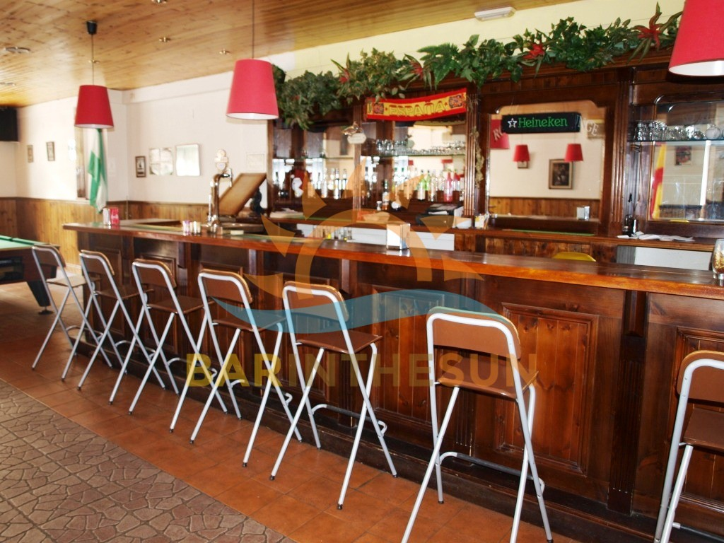 Bargain Priced Los Boliches Sports Lounge Bar For Sale, Bars For Sale Spain