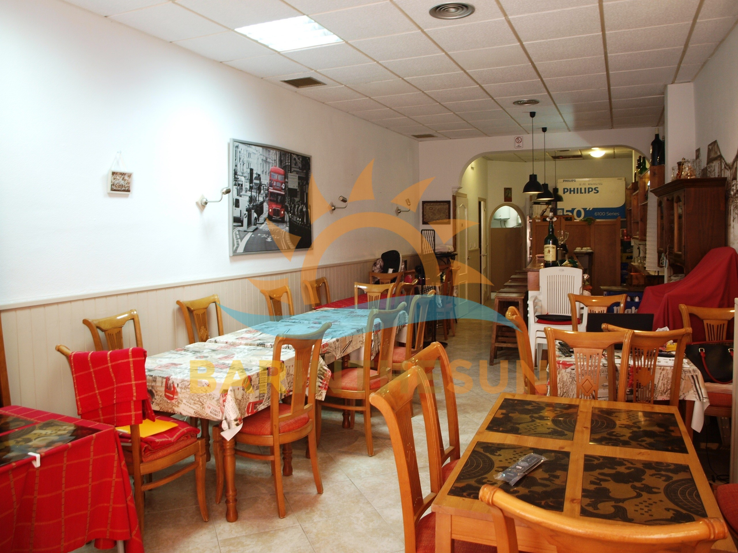 Highly Desirable Easily Managed Central Located Fuengirola Cafe Bistro Bar