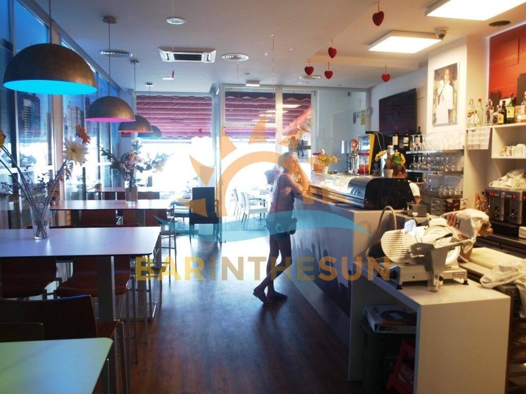 Bargain Priced Sea Front Cafe Bar For Sale in Fuengirola on The Costa Del Sol