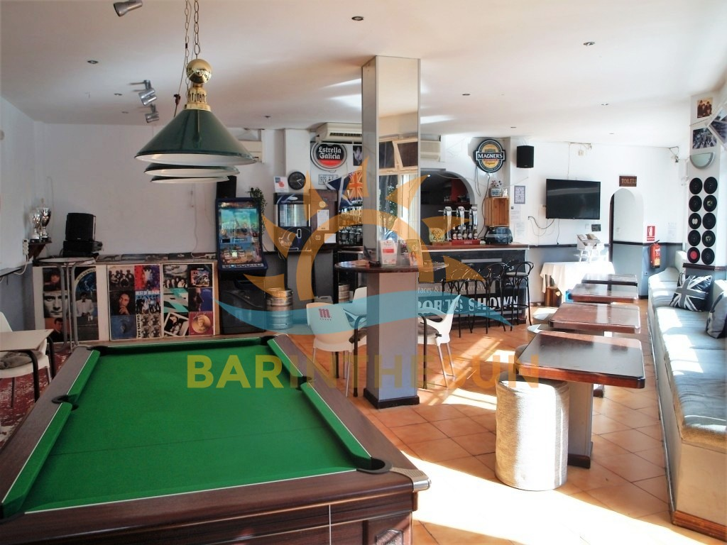 Benalmadena Cafe Sports Bar For Sale, Sports Bars For Sale in Spain