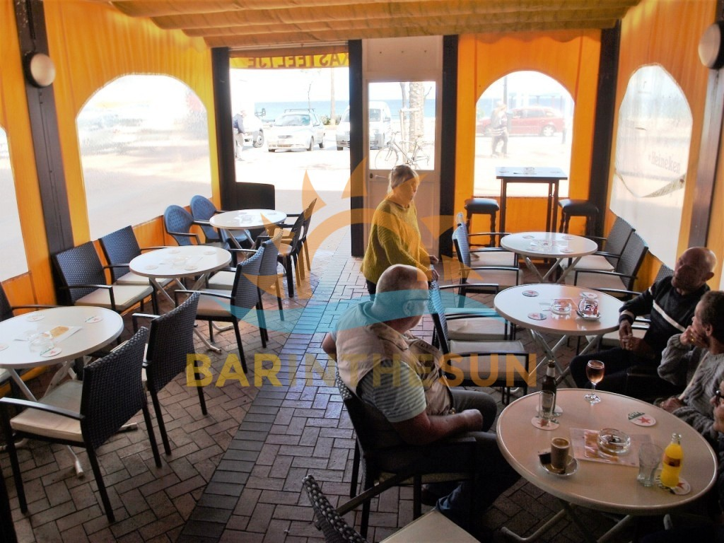Seafront Cafeteria Bars For Sale in Spain, Costa Del Sol Businesses For Sale