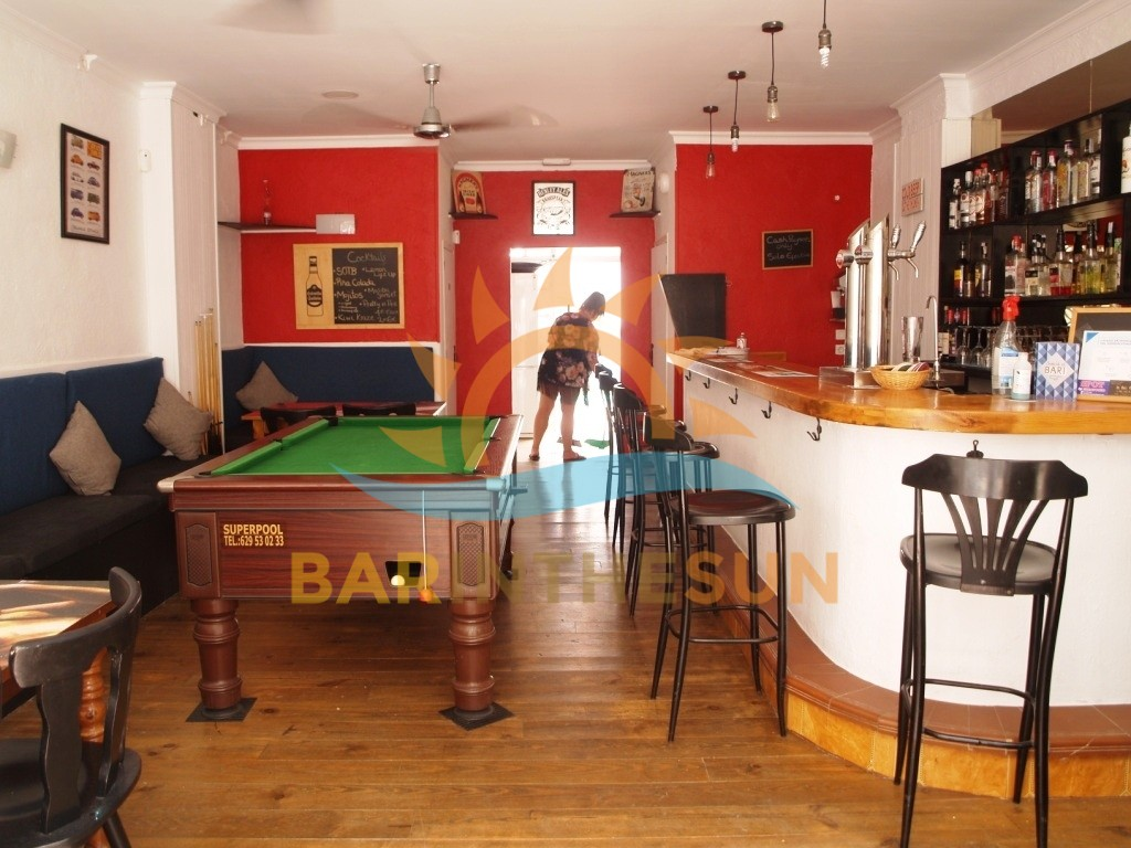 Benalmadena Cafe Bars For Sale, Bars For Sale in on The Costa del Sol in Spain