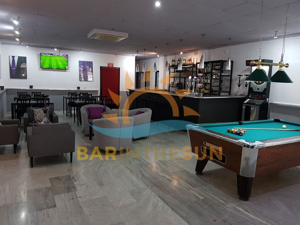 Cafe Lounge Theme Bar For Sale in Fuengirola Costa del Sol, Bars For Sale in Spain