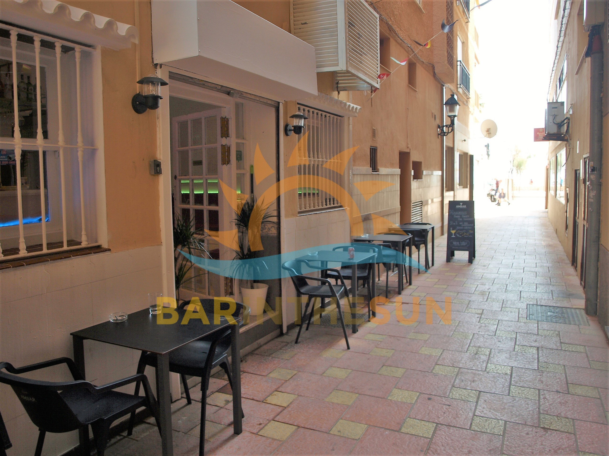 Cafeteria Bars For Sale in Los Boliches on The Costa del Sol, Bars For Sale in Spain