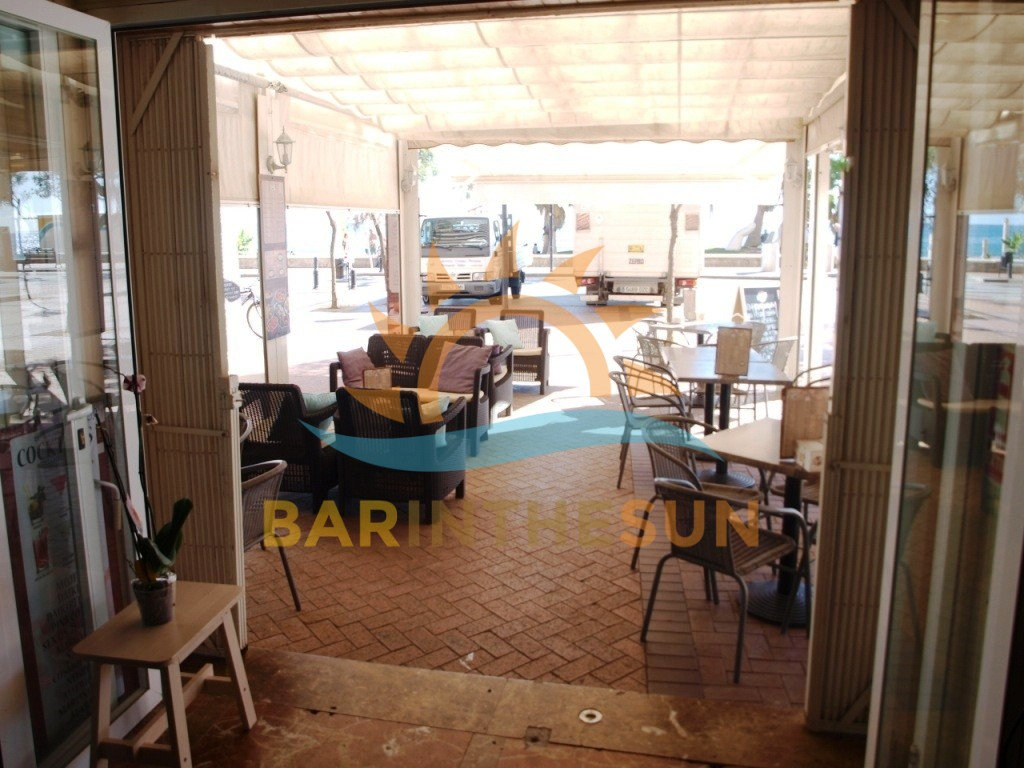 Sea Front Cafe Bar For Sale in Fuengirola on The Costa del Sol