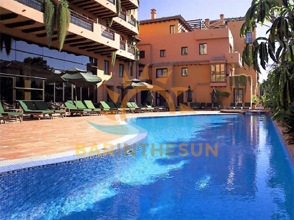 Freehold Four Star Hotel Spa For Sale in Estepona on The Costa del Sol in Spain