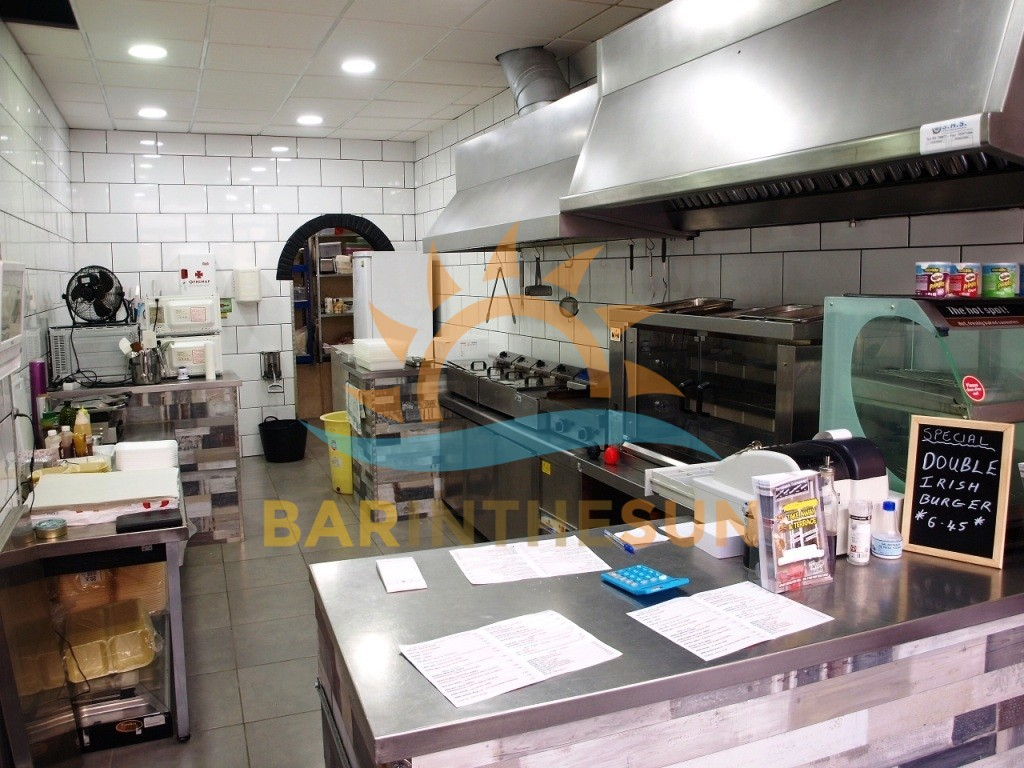 Costa Del Sol Takeaway Fast Food Bars For Sale, Bars in Spain