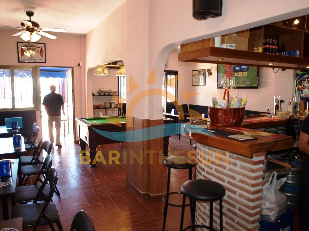 Cafe Bars For Sale in Benalmadena on The Costa del Sol in Spain