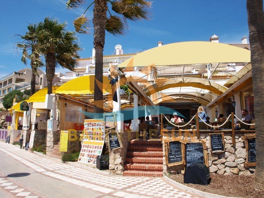 Sea Front Cafe Bar Businesses For Sale in Benalmadena Costa del Sol