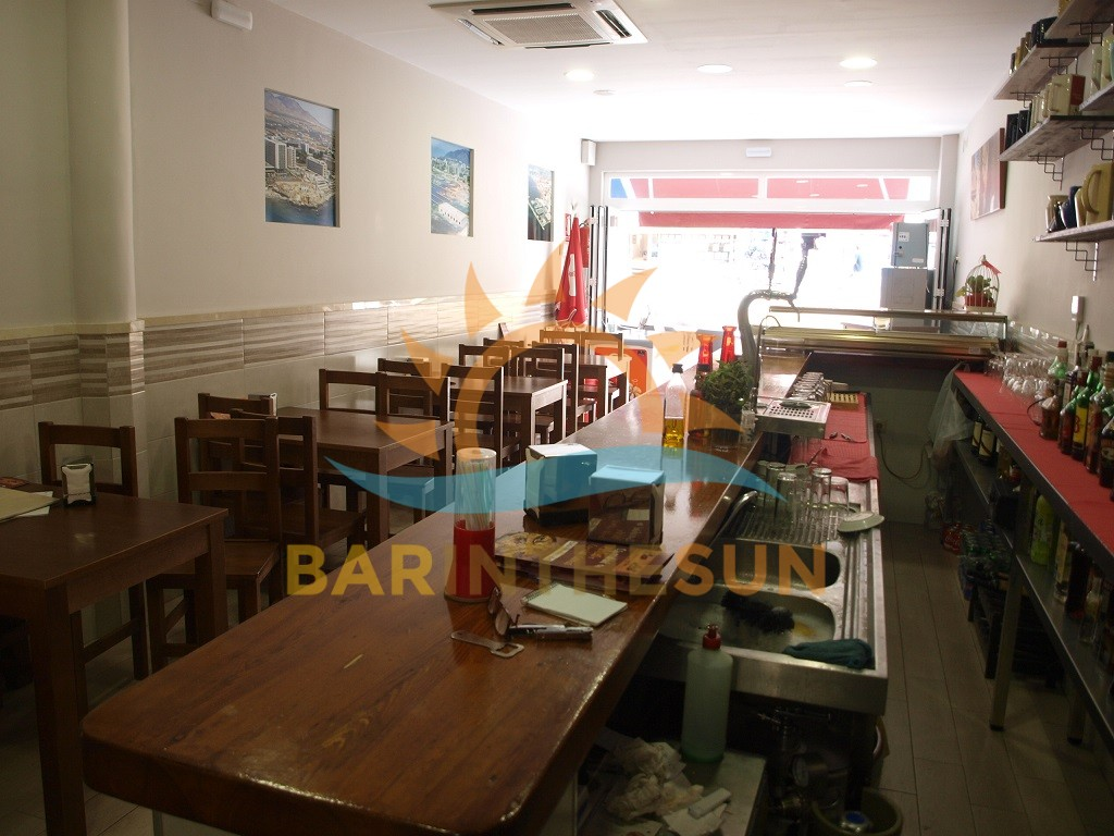 Cafe Bars For Sale in Benalmadena on The Costa del Sol, Bars For Sale in Spain
