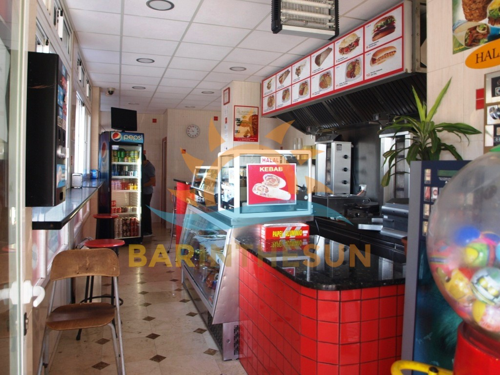 Takeaway Fast Food Bars For Sale in Fuengirola on The Costa Del Sol
