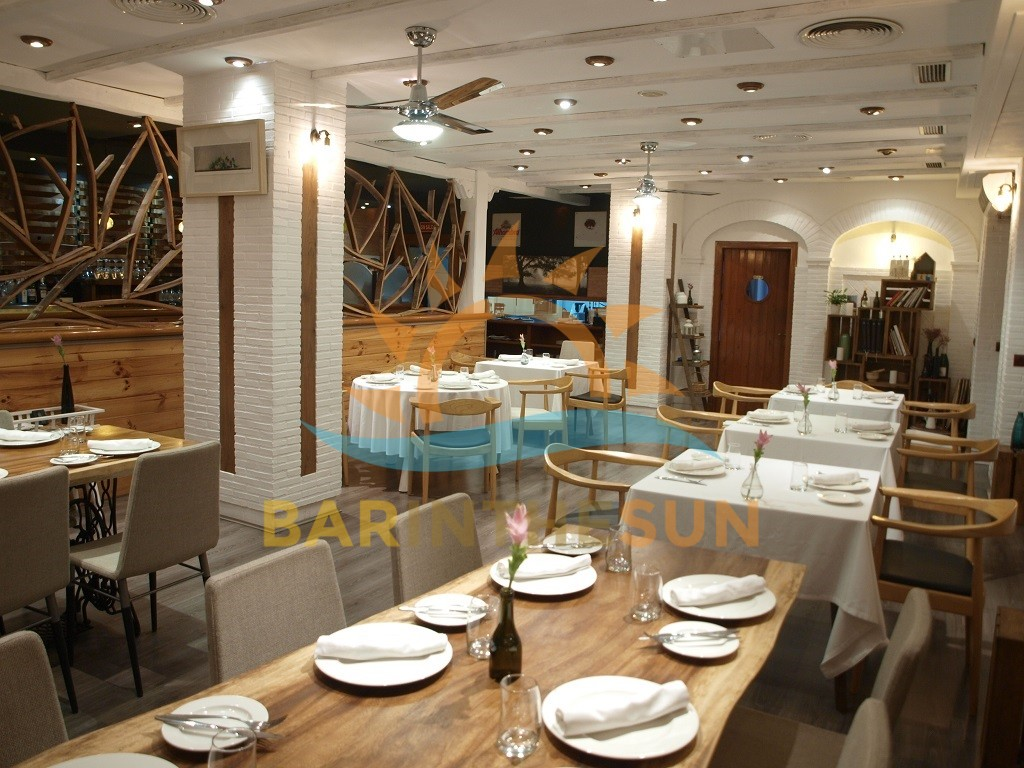 Modern Trendy Corner Located Cafe Restaurant For Sale in Fuengirola Costa del Sol