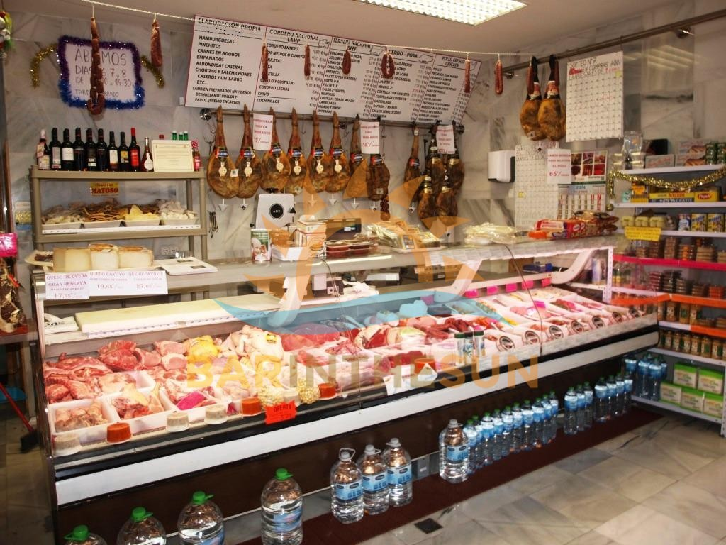 Fully Established Butchers Shop For Sale in Fuengirola on The Costa de Sol in Spain
