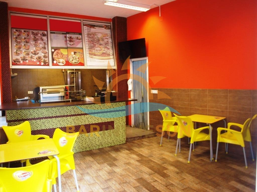 Takeaway Snack Bar For Rent in Fuengirola on The Costa Del Sol in Spain