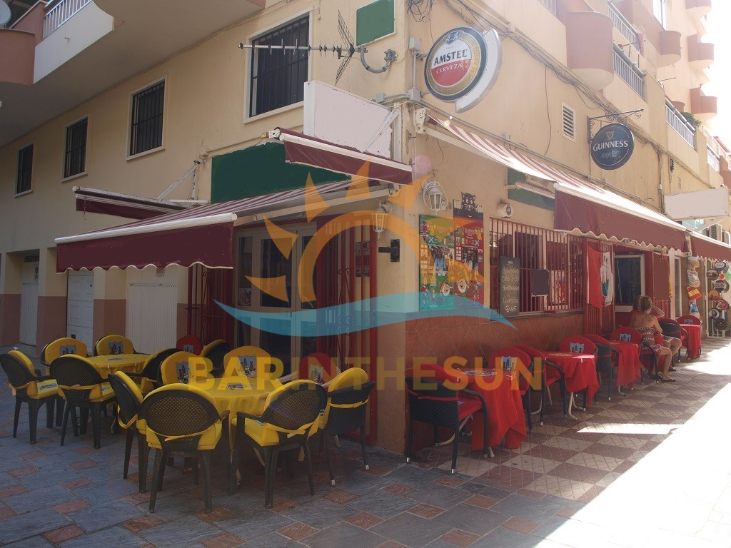Long Established Corner Located Los Boliches Cafeteria Sports Bar For Sale