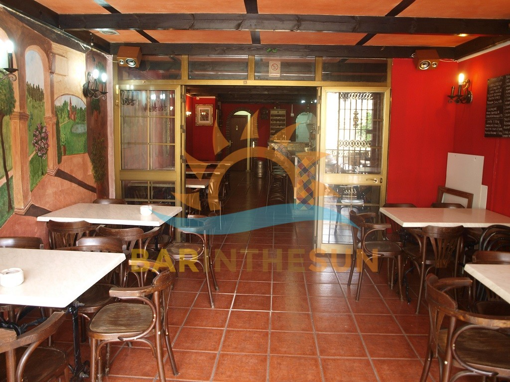 Freehold Cafe Bar For Sale in Los Boliches on The Costa Del Sol in Spain
