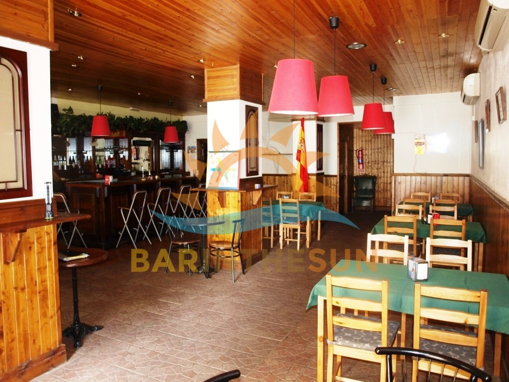 Freehold Lounge Sports Bar For Sale in Los Boliches on The Costa del Sol in Spain