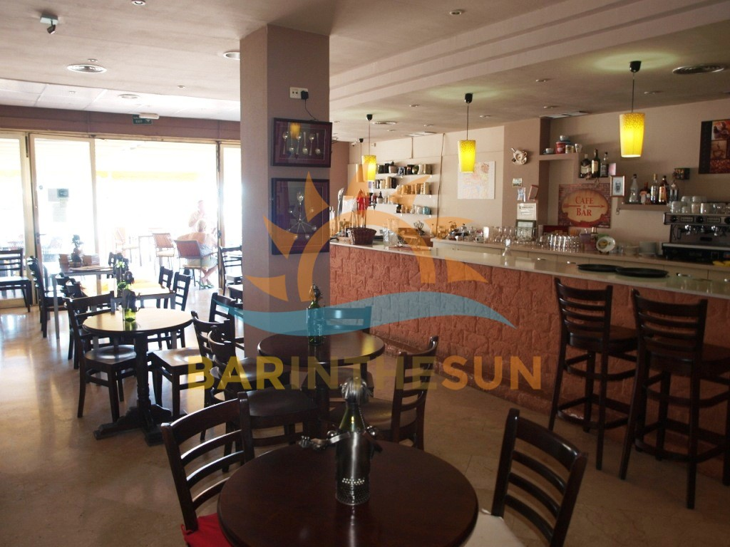 Sea Front Cafe Bar For Sale in Los Boliches on The Costa Del Sol in Spain