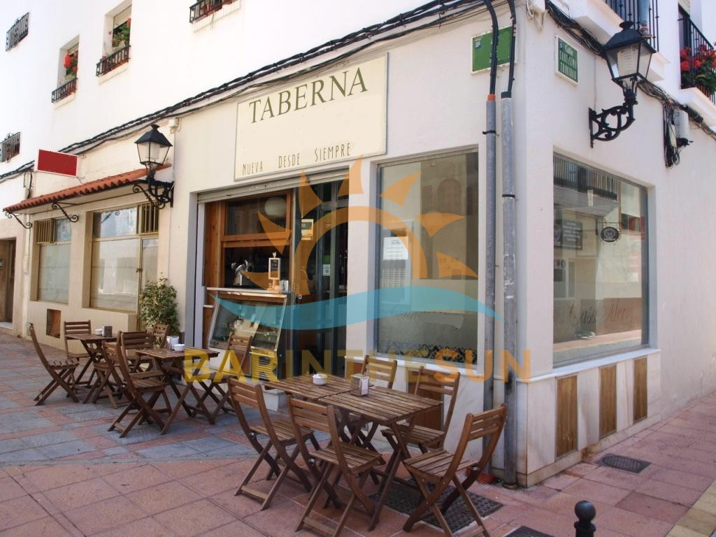 Cafeteria Bars For Sale in Los Boliches on The Costa Del Sol in Spain