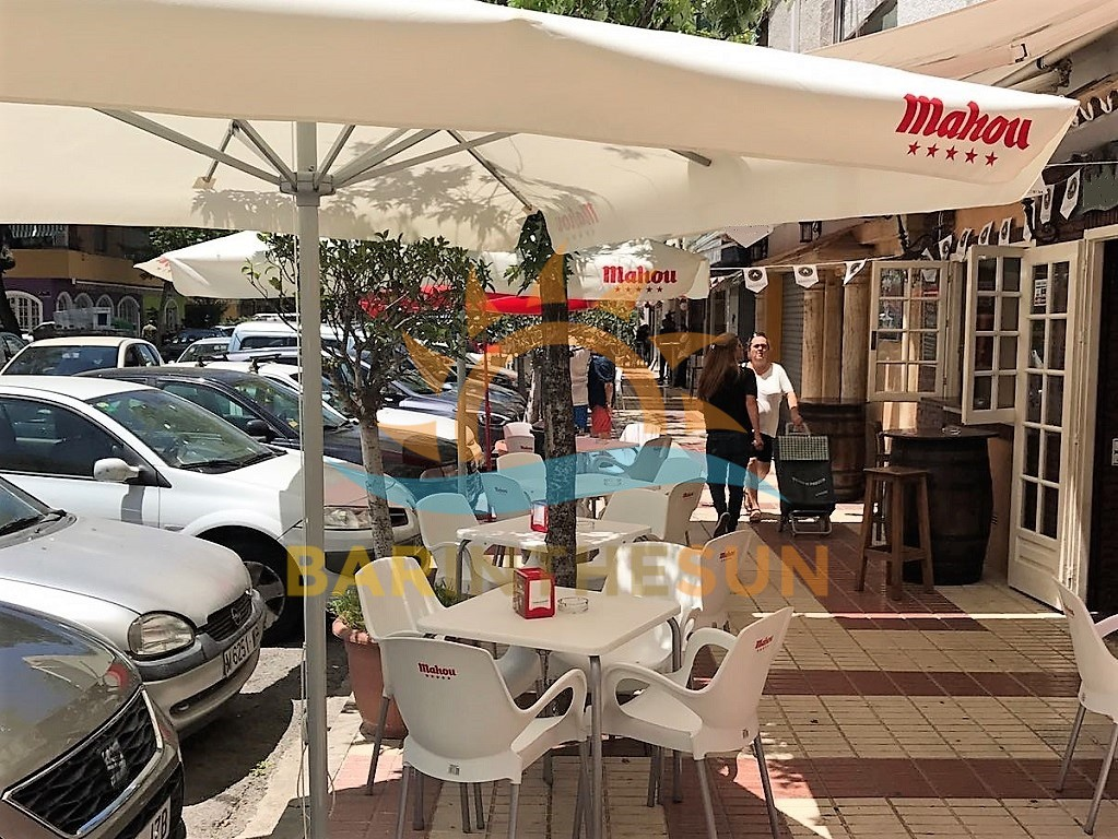 Excellent Value Cafe Bar For Sale In Marbella on The Costa del Sol