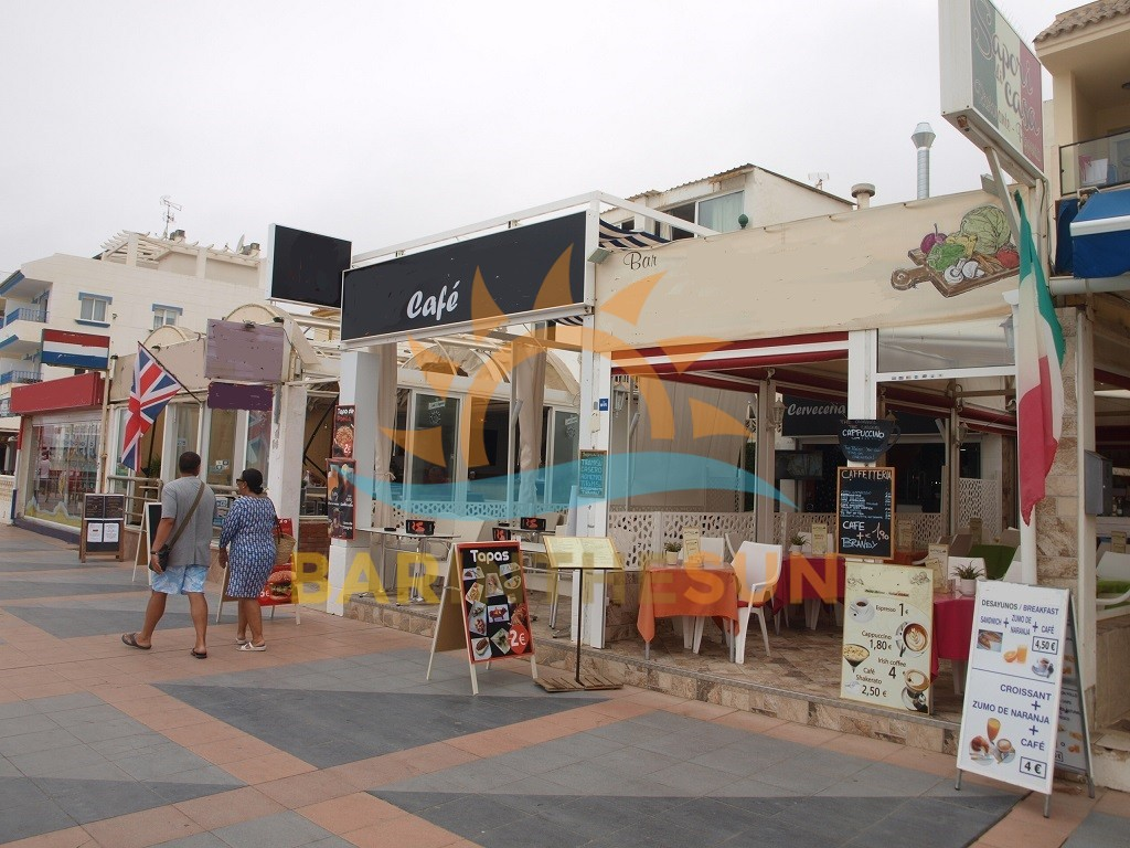 La Carihuela Sea Front Cafe Bars For Sale, Bars For Sale in Spain