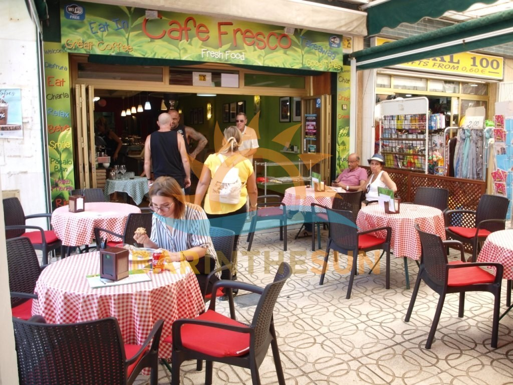 Cafe Bars For Sale in Central Fuengirola on The Costa Del Sol, Bars For Sale in Spain